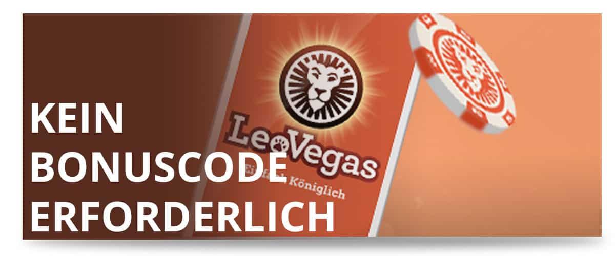 LeoVegas Spielhalle Bonus Code