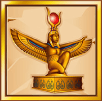 Goldene Statuer Book of Ra
