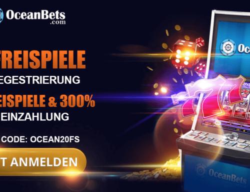 20 Freispiele ohne Einzahlung im Casino von Oceanbets