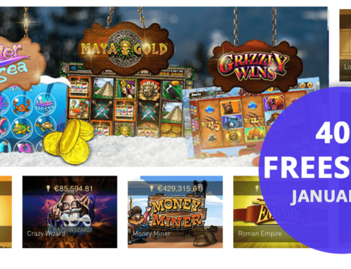 Freespins im Casino Club – 400 Freispiele warten auf die Kunden im Januar 2018