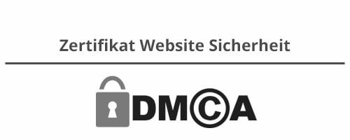 DMCA Zertifikat