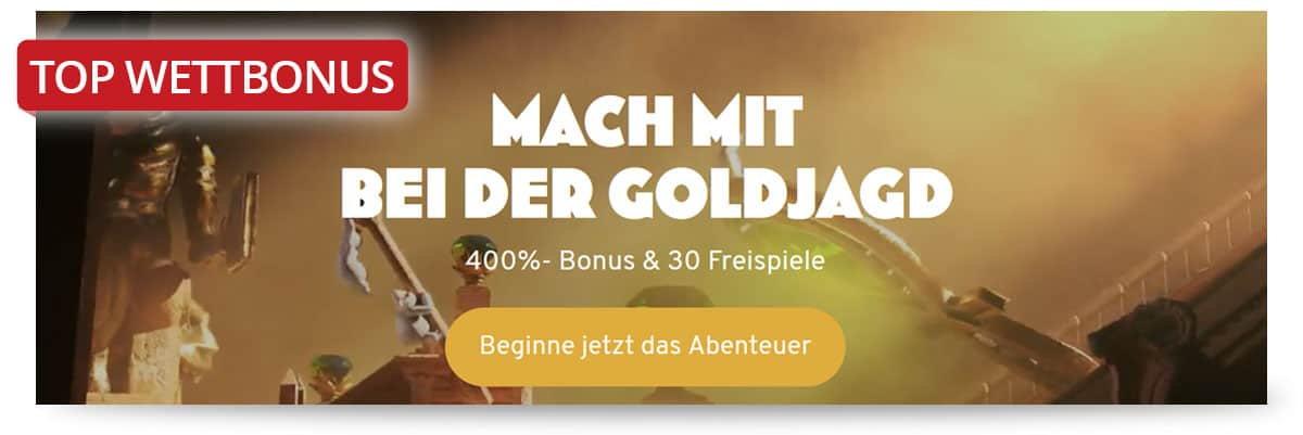Höchster Casino Bonus bei Wunderino