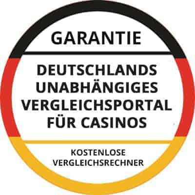 Siegel unabhägiges Vergleichsportal für Casinos
