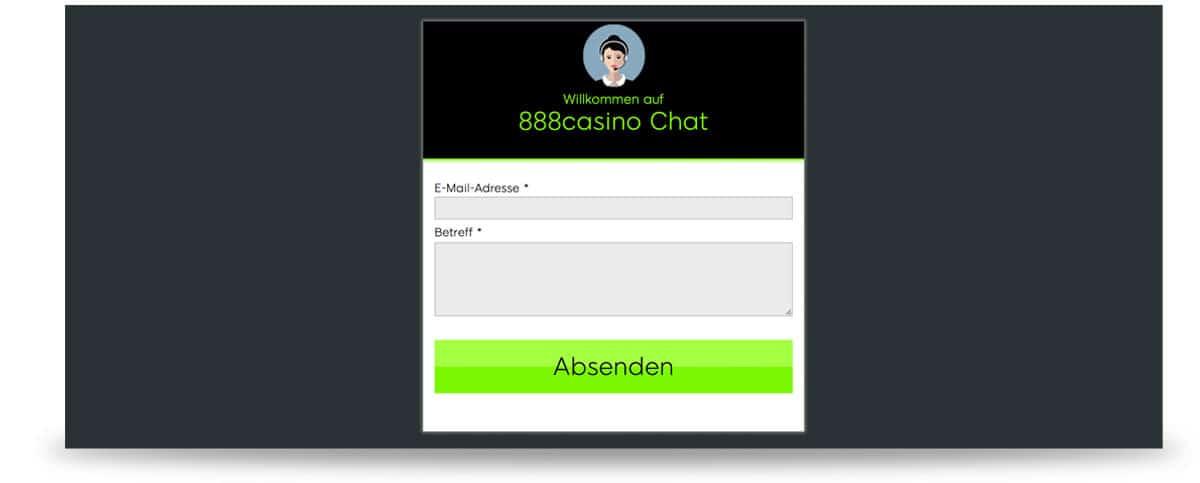 888 Casino Chat
