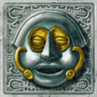Blauer Kopf Symbol Gonzos Quest