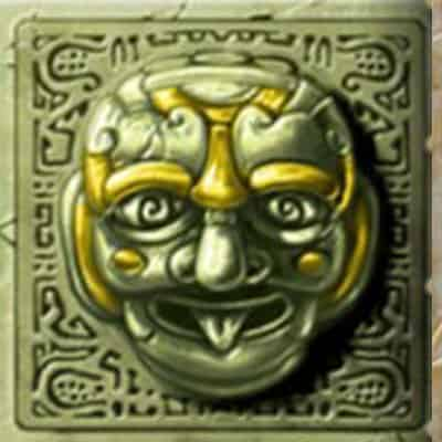 Grüner Kopf Symbol Gonzos Quest