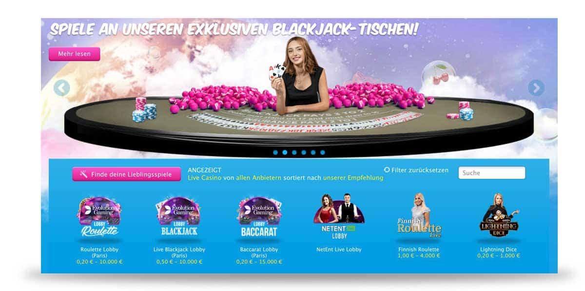 Vera und John Live Casino