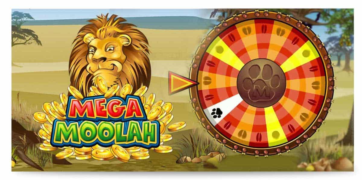 Glücksrad Slot MEga Moolah