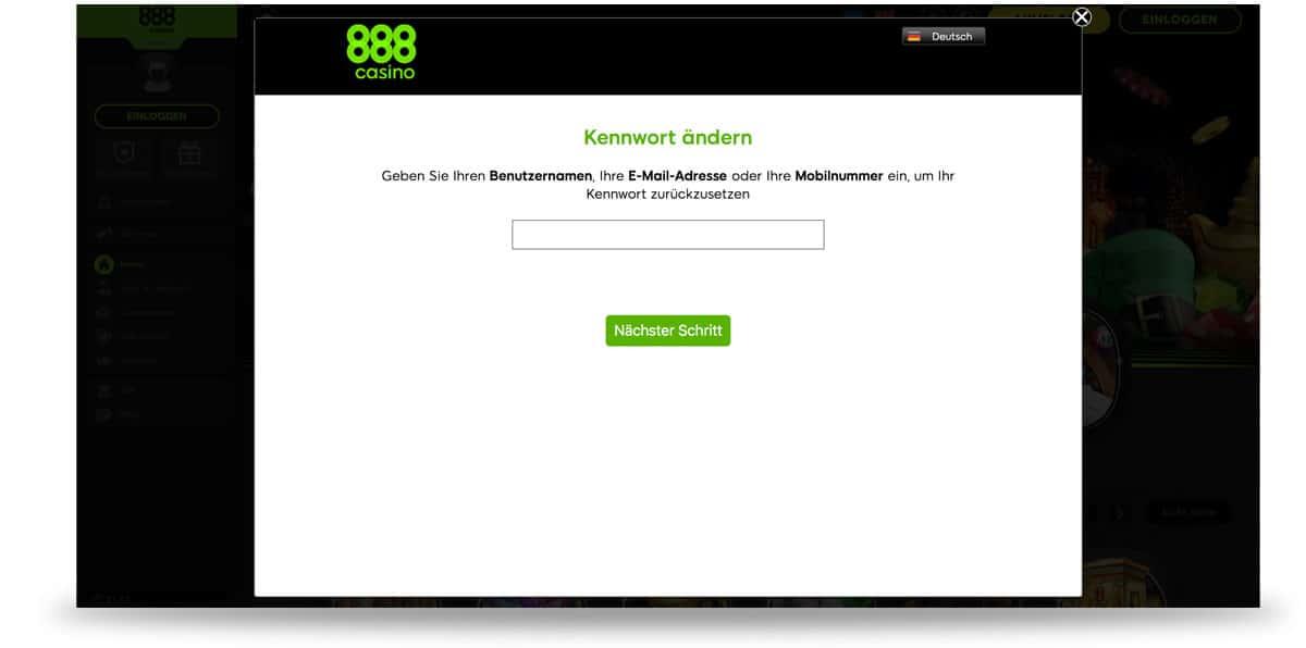 888casino Login