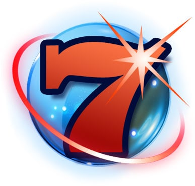 Sieben Symbol Starburst Slot