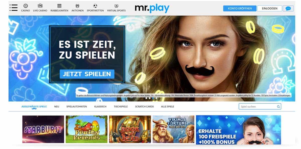 Startseite Mr Play