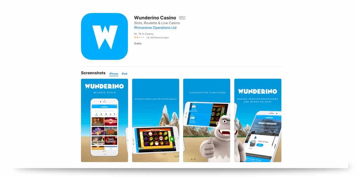 Wunderino iOS App