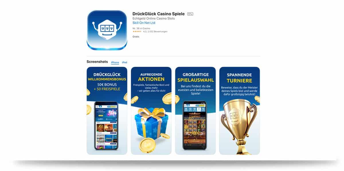 DrückGlück App iOS