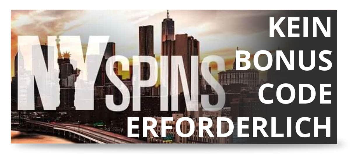 NYSpins Bonus Code