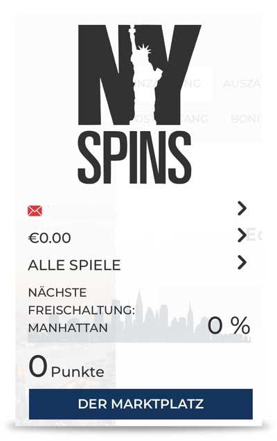 NY Spins Treueprogramm