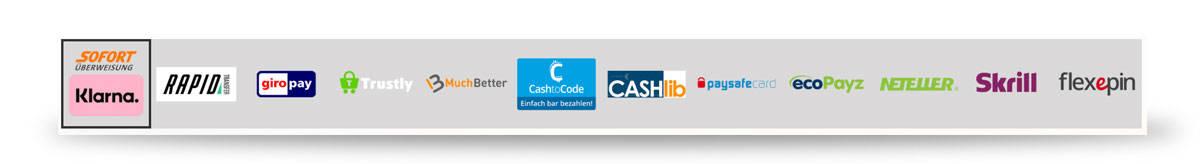 NySpins Zahlungsmethoden