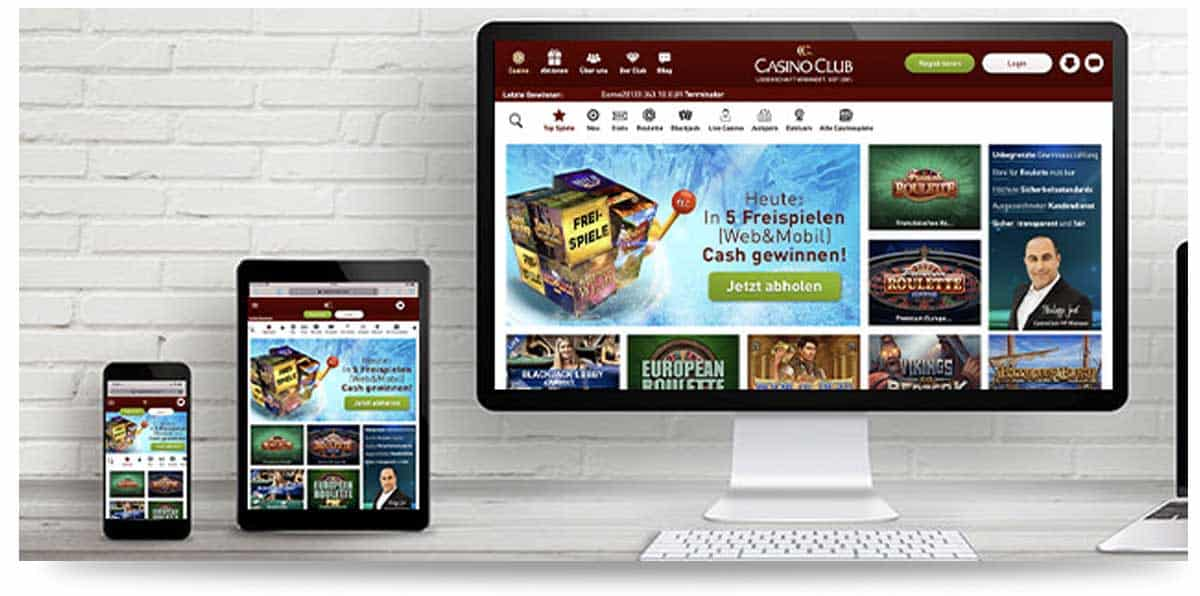 CasinoClub Mobile