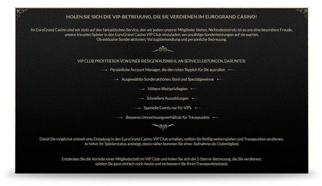 Eurogrand VIP Club