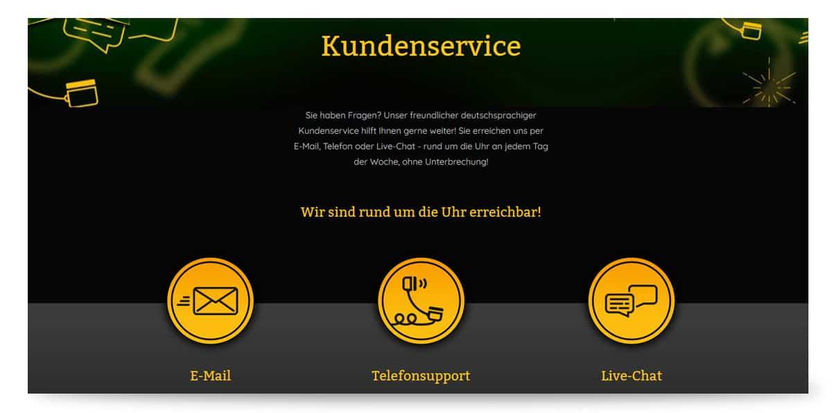 Kundenservice onlinecasino.de