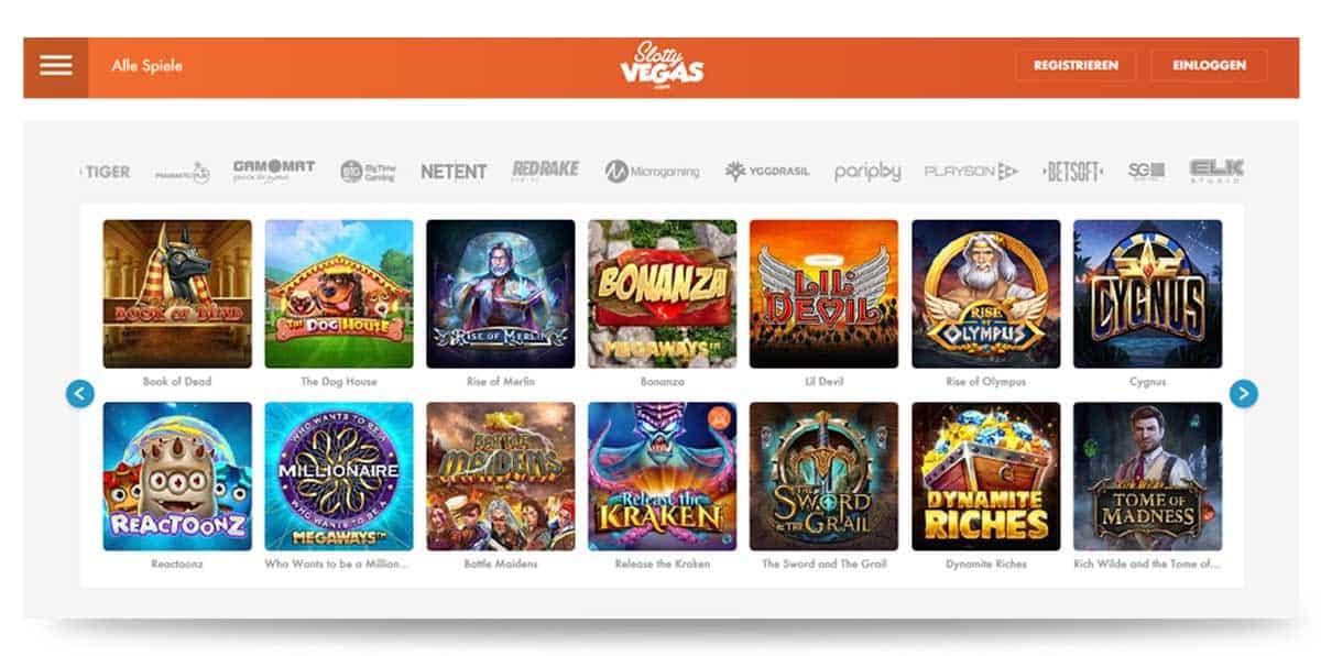 Slotty Vegas Spielautomaten