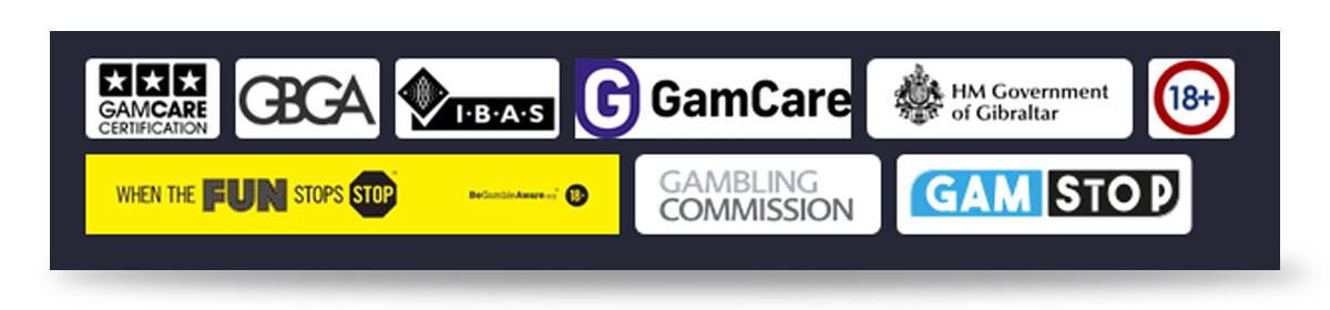 Ladbrokes Casino Trustsymbole