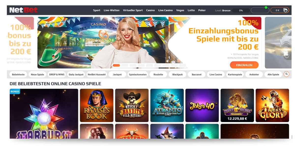 Netbet Casino Startseite